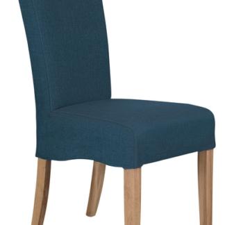 Jídelní židle Roberta, petrolejová látka