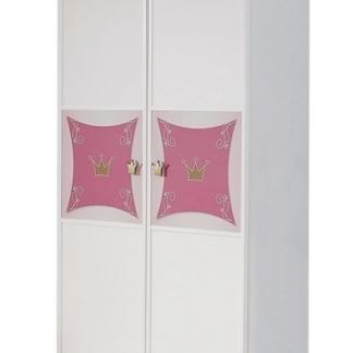 Dětská šatní skříň Kate, 2-dveřová