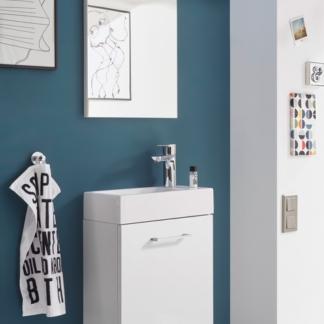 Koupelnová sestava Guest Light, bílá, 3 díly