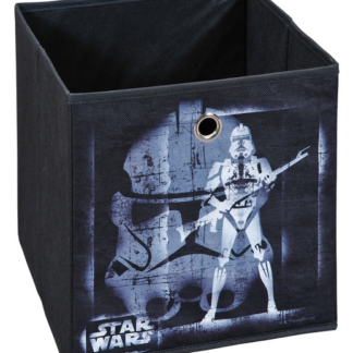 Úložný box Star Wars 2, černý, motiv bojovníka