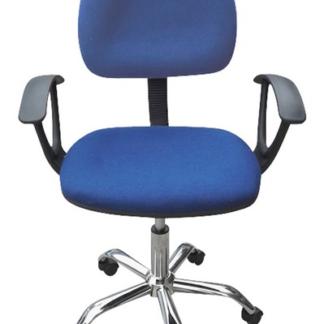 Dětská židle Erfon, modrá látka