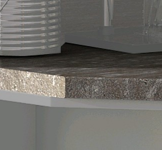 Kuchyňská pracovní deska pro regál APL 30 cm, levá