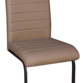 Jídelní židle Arden, cappuccino ekokůže
