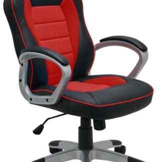 Kancelářské křeslo Star, černé/červené