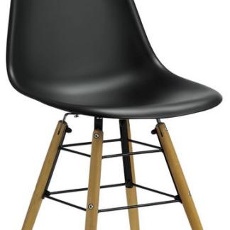 Jídelní židle Lyon, černá
