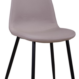 Jídelní židle Loof, latté ekokůže
