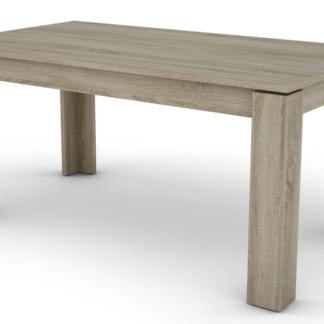Jídelní stůl Inter 160x80 cm, dub sonoma, rozkládací