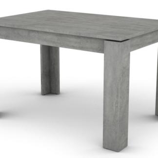Jídelní stůl Inter 120x80 cm, šedý beton