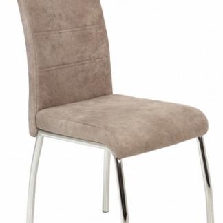 Jídelní židle Susi 2, béžová vintage látka