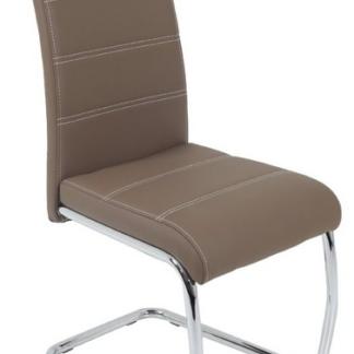 Jídelní židle Flora, latté ekokůže