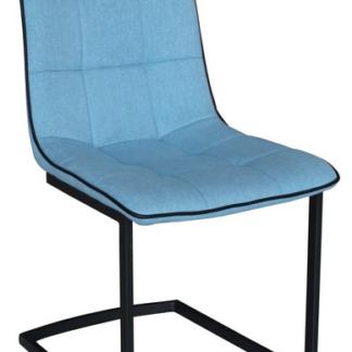 Jídelní židle Ravenna, modrá látka