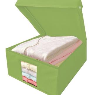 Úložný box Cover, vel. M, zelený