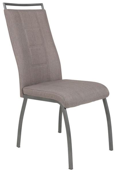 Jídelní židle Amber 1, šedá látka