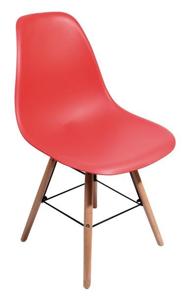 Jídelní židle Lyon, červená