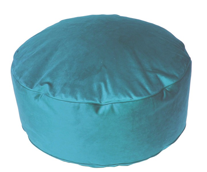 Taburet Tutti, modro-zelený