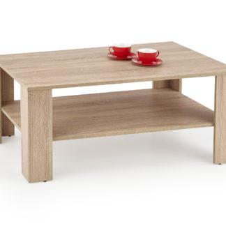 Konferenční stolek KWADRO LAWA, dub sonoma