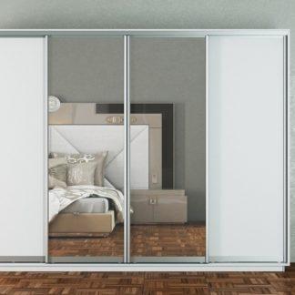 Skříň s posuvnými dveřmi GAMMA 300 cm, bílá