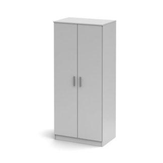 Šatní skříň dvoudveřová SINGA 80 Tempo Kondela Bílá