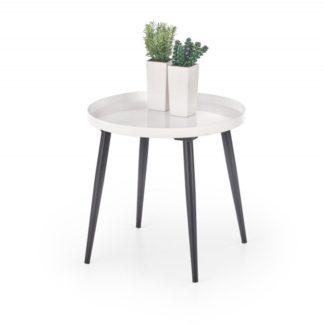 Odkládací stolek ORIENT bílá / černá Halmar