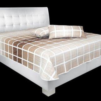 Čalouněná postel Sára 180x200 cm White - BLANAŘ