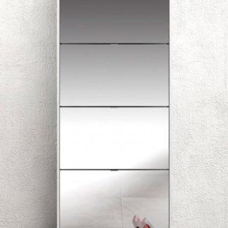 Botník Shoes 59010 bílý/zrcadlo - TVI