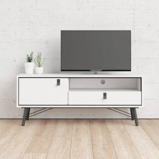 TV stolek RY 86007 bílý mat - TVI
