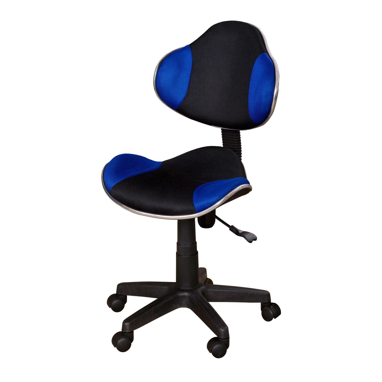 Kancelářská židle NOVA, modro/černá barva