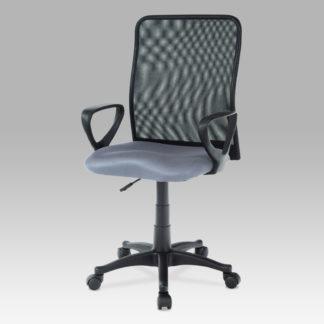 Kancelářská židle KA-B047 GREY, šedá