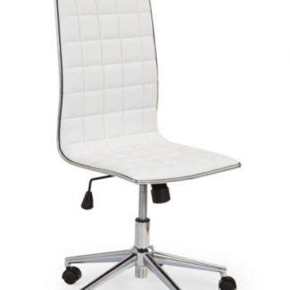 Kancelářské křeslo TIROL, bílá ekokůže