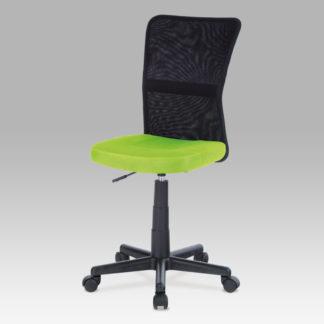 Kancelářská židle KA-2325 GRN zelená / černá