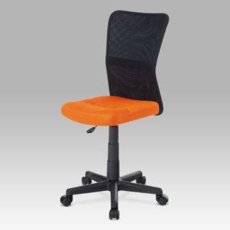 Dětská židle  KA-2325, oranžová / černá