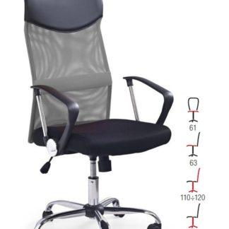 Kancelářské křeslo VIRE, černá/šedá