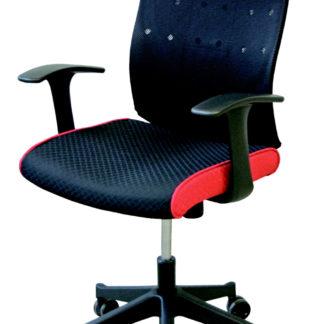 Manažerská židle VICKY, černá/červená