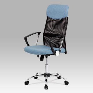 Kancelářská židle KA-E301 BLUE, modrá
