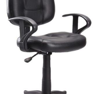Kancelářská židle Q-011, černá