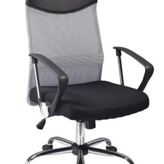 Kancelářská židle Q-025 šedá/černá