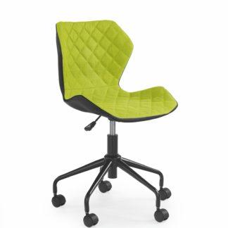 Dětská židle MATRIX, černá/zelená