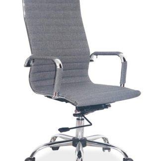 Kancelářská židle Q-040, šedá