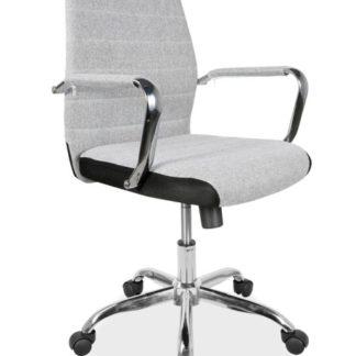 Kancelářská židle Q-M3, šedá