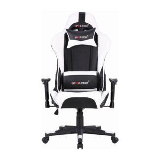 Kancelářské křeslo SPEED RACER, černá/bílá