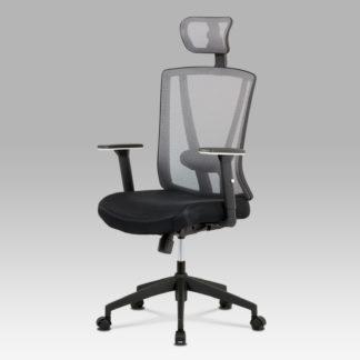 Kancelářská židle KA-H110 GREY, černá/šedá
