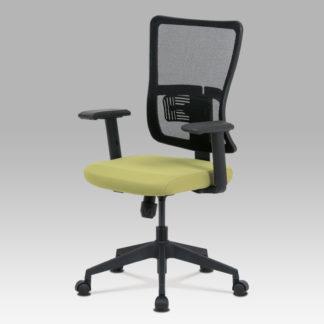 Kancelářská židle KA-M02 GRN, zelená/černá