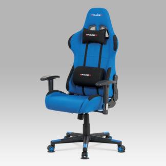 Kancelářská židle KA-F05 BLUE, modrá