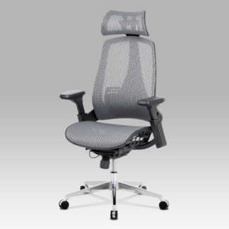 Kancelářská židle KA-A189 GREY, šedá