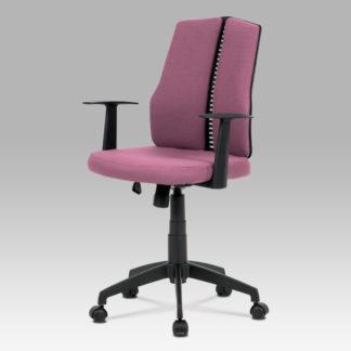 Kancelářská židle KA-E826 BOR, bordó