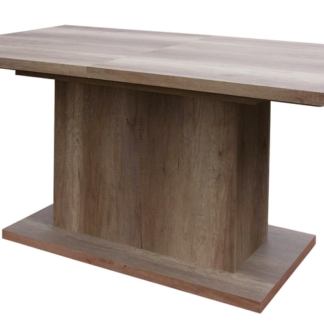 Jídelní stůl Paulo 160x90 cm, dub canyon, rozkládací