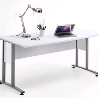 Psací stůl Calvia 2, bílá