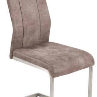Jídelní židle Trieste, vintage optika kůže