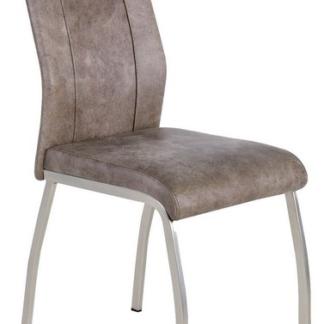 Jídelní židle Trieste 2, vintage optika kůže