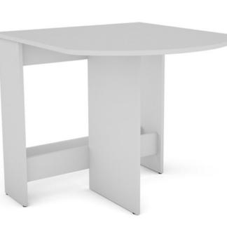Výklopný jídelní stůl Samson 80x87,5 cm, bílý